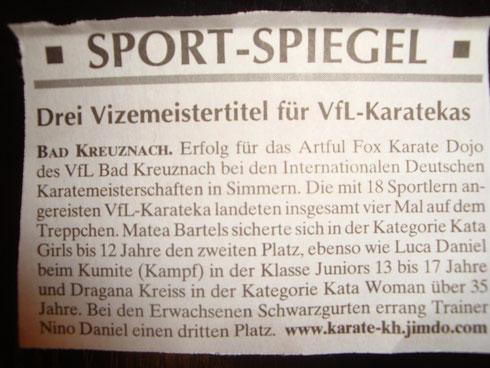 Kreuznacher Wochenspiegel, Juli 2014