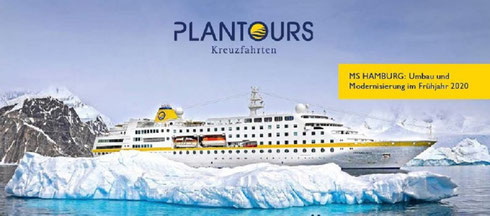 MS Hamburg Kreuzfahrt Antarktis Reisen incl. Flug 2021 Januar 2022 (c) Plantours Partner