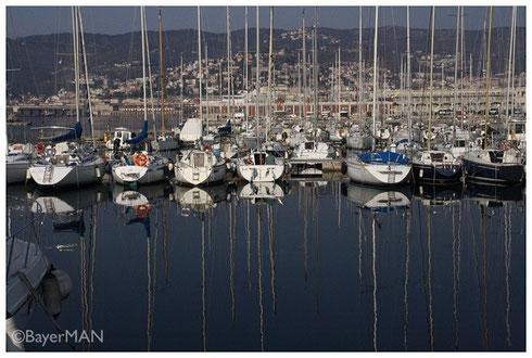 Im Hafen von Triest