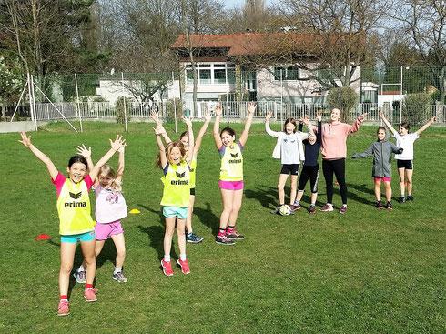 """1. Training (3.Schst.) mit Anna Patsios von """"Mädchen am Ball"""" - Bgld."""
