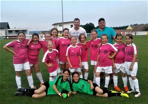 Unsere Mädels beim Turnier in Draßburg - 31.5.2018