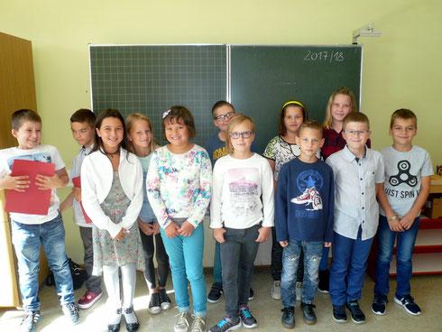 4. Schulstufe 2017/18 - Schulbeginn