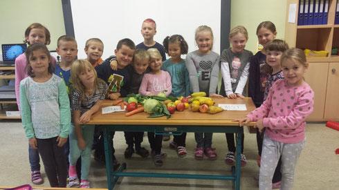 Obst und Gemüse...
