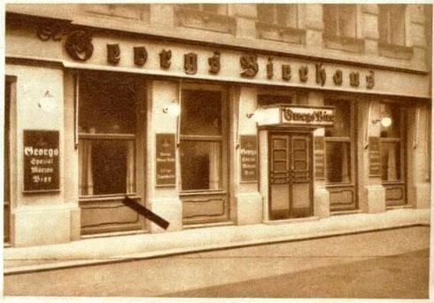 St. Georgs Bierhaus 1933