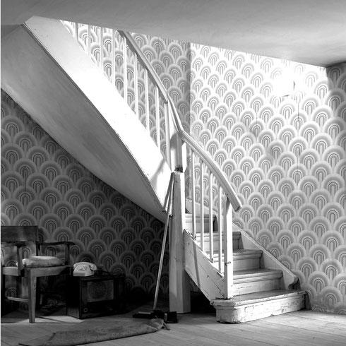 Treppe modernisierungsbedürftig Bucher Treppen vorher