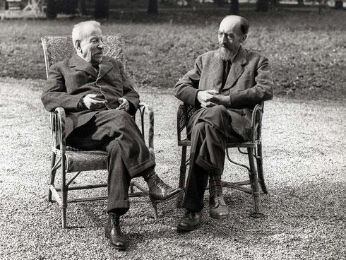 Benedetto Croce e il conte Alessandro Casati, 22 ottobre 1946