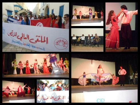 Encuentro internacional de danza en Túnez