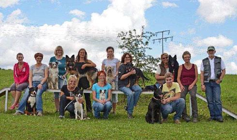 Die Mensch-Hund-Teams