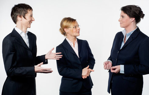 Daniela Potzel, Anett Kießling, Meike Pflaumbaum