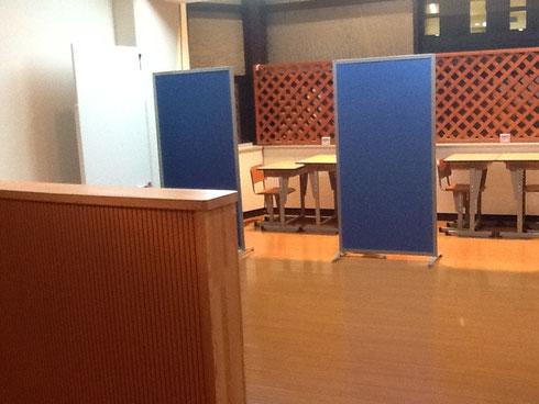▲ 新教室です