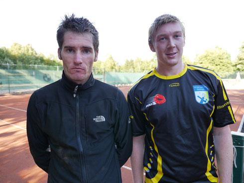 Bastian Muc und Pascal Müller, der Sieger der Herrenkonkurrenz