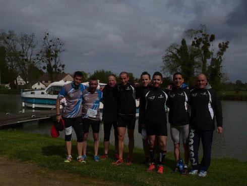 PYF aux côtés de licenciés du Sancerre Running