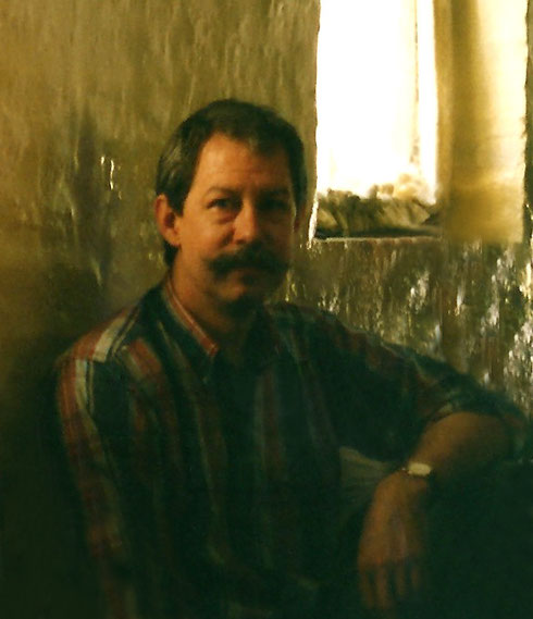 1988 - Mandali Hall, Meherazad, India ; cropped photo by Anthony Zois