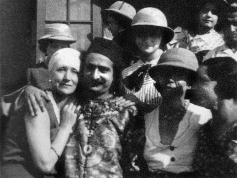 1933 : (L-R) Norina, Baba, Mabel Ryan and Delia deLeon