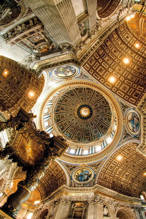 Michelangelo's Dome - St. Peter's Basilica
