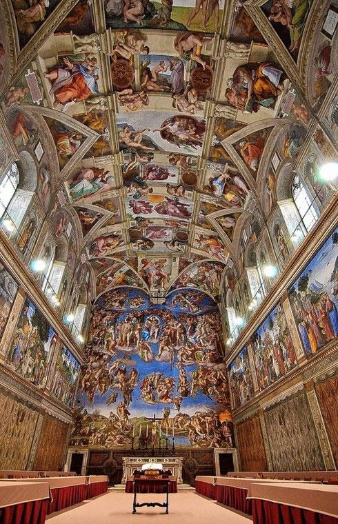 Michelangelo's Sistine Chapel, Vatican