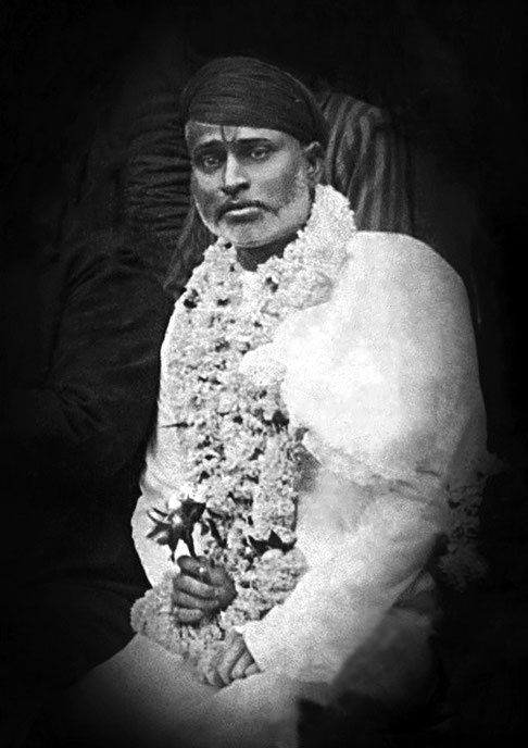 Saint Gilori Shah : 4th December 1899, Ahmednagar, India  ( cropped & restored by Anthony Zois )