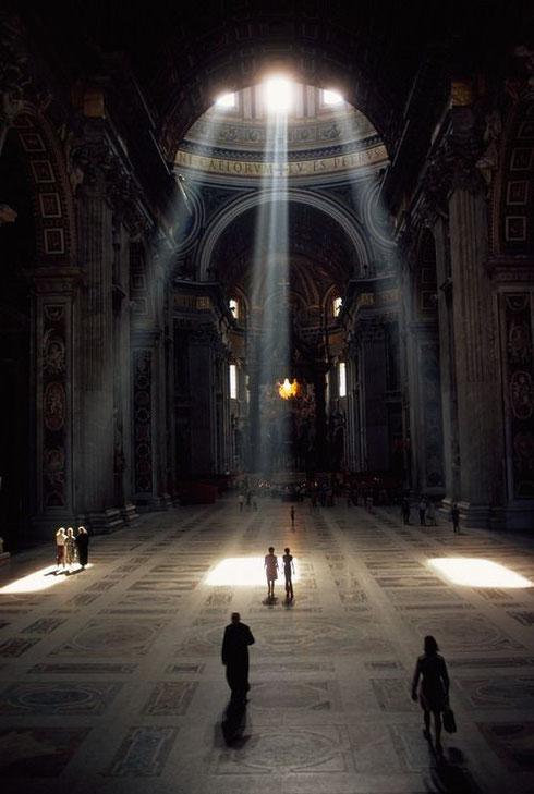 Inside St.Peter's Basilica