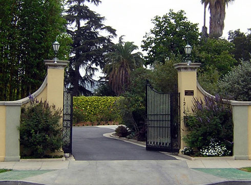 Main entrance, Los Angeles, CA.