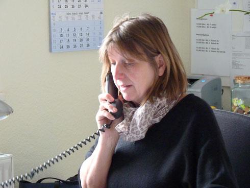 Frau Blanck koordiniert den Ganztag
