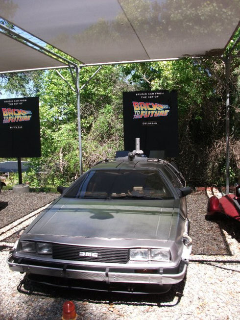 "A look at the original DeLorean (""A Car"") at the Universal Studio in Hollywood - April, 2010"