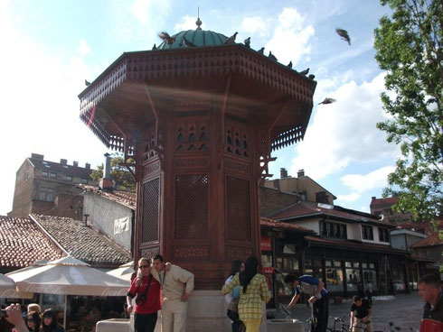 Der Sebilj-Brunnen
