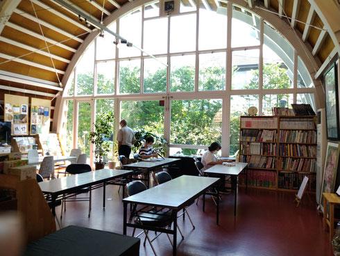 木下美術館 絵画教室の場所です。ここにみなさん集まります。