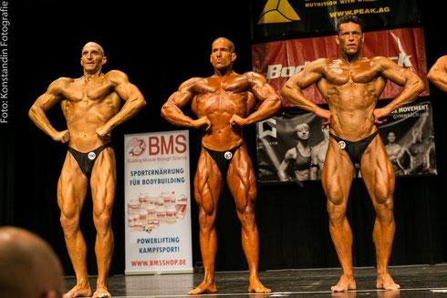 v. l. n. r.: Mirko Burger (4.), Meeko Mikolaschek (1.), Raimund Megyeri (3.)