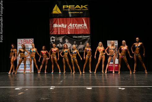 Line-up aller Teilnehmerinnen