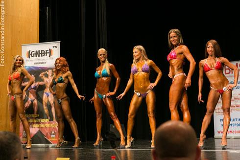 v. l. n. .r.: Monika Melčáková (1.), Tatiana Nemna (3.), Anja Zürcher (8.), Šárka Čejková (2.), Martina Ludwig (13.), Mardhiana Grabert (4.)