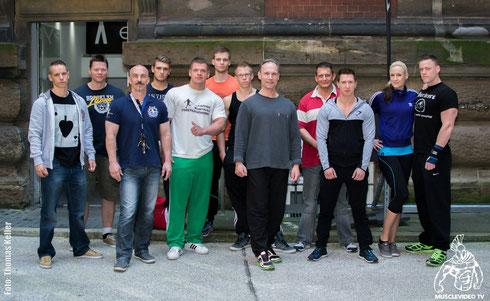 Teilnehmer des 10. GNBF-Mitgliedertrainings in Hamburg mit Berend Breitenstein