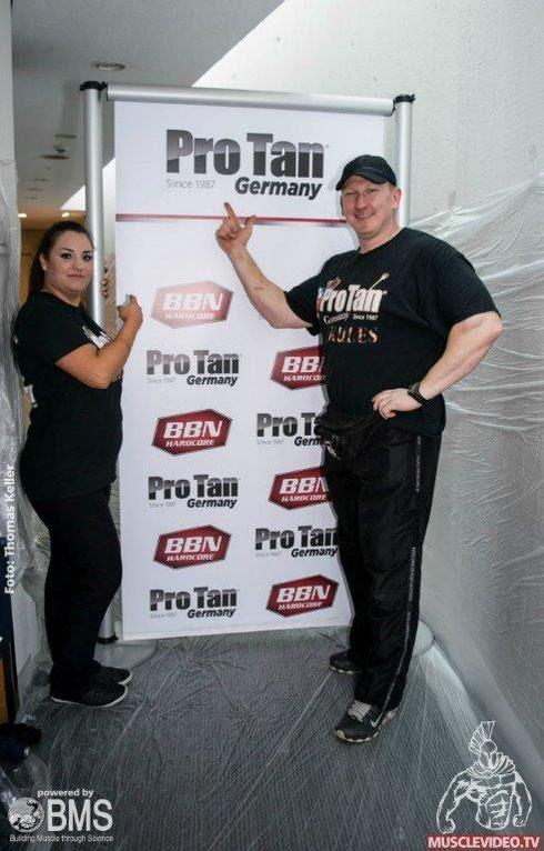 """""""Pro Tan"""" war natürlich auch wieder vor Ort."""