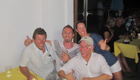 Von links nach rechts: Jochen Möhrstädt, Rüdiger Lang, Viktoria Soltesz und im Vordergrund: Martin Schaaf