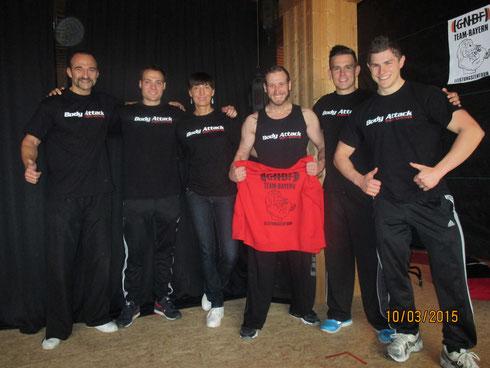 Teamfoto von links nach rechts: Erich Hufnagl, Mathias Siebenbürger, Marina Unfried, Simon Kaiser, Manuel Endl, Josef Fraunhofer