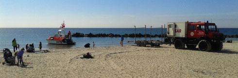 ...zur Kontroll- und Ausbildungsfahrt auf der Ostsee