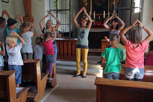 Kleinkinderfeier in der Kapfkapelle