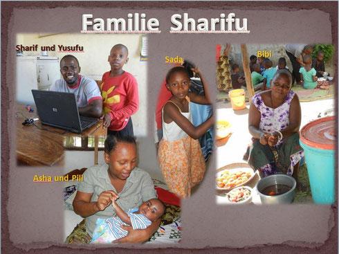 Familie Sharifu