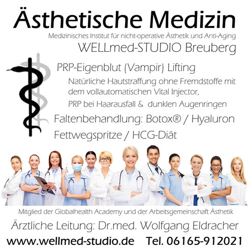 Ärztliche Privatpraxis für nicht-operative Ästhetische Medizin und Anti-Aging