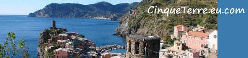 Cinque Terre EU Logo Reisetipps Italien Ligurien Mittelmeer Küsten