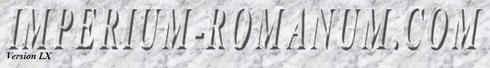 Imperium Romanum COM Logo römischer Kalender Erklärungen Jahre Monate Tage