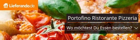 Lieferando Portofino Weinstadt Pizzeria Liefergebiet Essen bestellen Logo