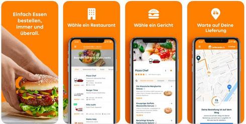 Lieferando App Essen bestellen auf die schlaue Art