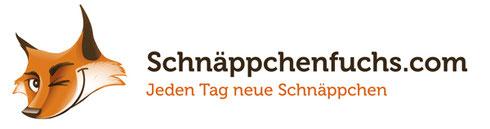 Schnäppchenfuchs Logo jeden Tag neue Schnäppchen