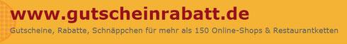 gutscheinrabatt de Logo Gutscheine Rabatte Schnäppchen Restaurantketten Online-Shops Weinstadt