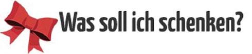 Was soll ich schenken Logo Die besten Geschenkideen Geburtstag Weinstadt