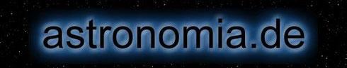 astronomia DE Logo Astronomie Sternenzeit Sonnenzeit Sternenhimmel