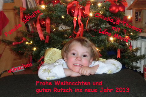Weihnachtsgrüsse 2012