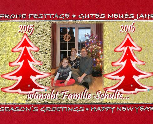 Weihnachtsgrüsse 2015
