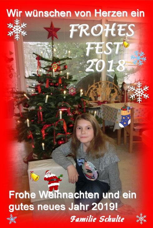 Foto vom Weihnachtsgruss 2018