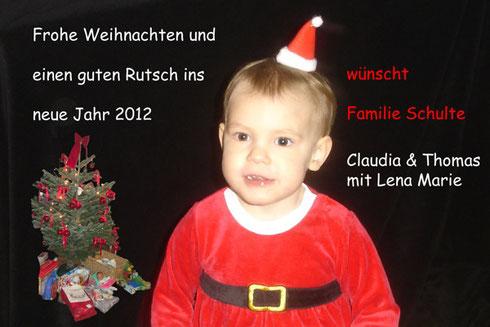 Weihnachtsgrüsse 2011